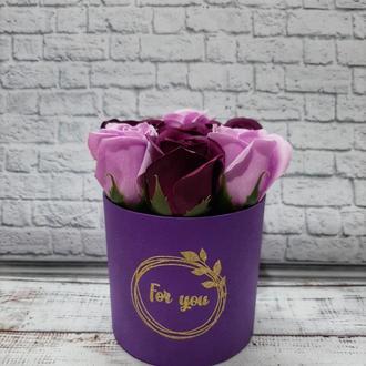 Мыльные розы 7 бутонов