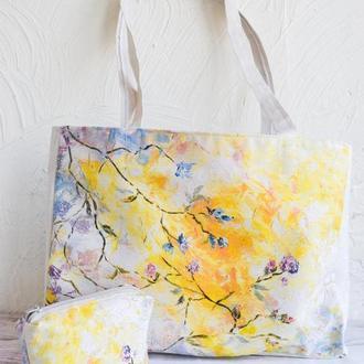 Эко сумки с принтами живописи