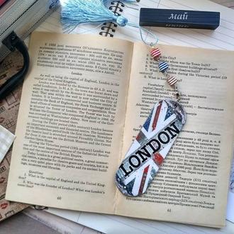 """Закладка деревянная для книг """"Лондон"""""""