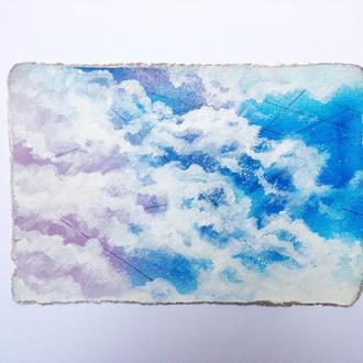 За облаками - покрытие для ноутбука