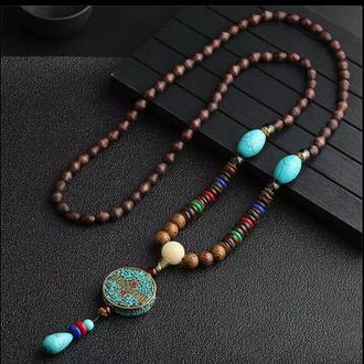 Тибетское ожерелье - амулет.