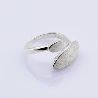 Серебряное кольцо Геометрия