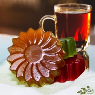 Мыло  «Чёрный чай» из ELIA Чайная коллекция.