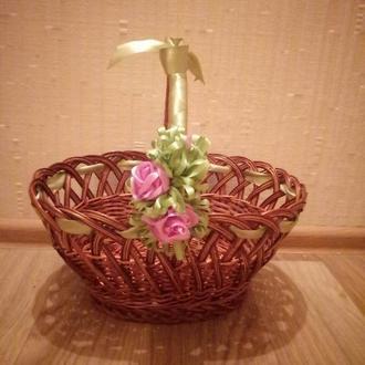 Декорація корзин для Пасхи, власноруч