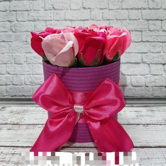 Мыльные розы 11 роз