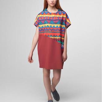 Платье-футболка с принтом Savanna