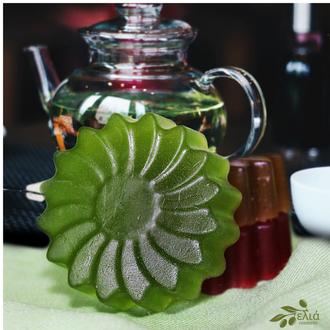 Мыло «Зеленый чай» из ELIA Чайная коллекция.