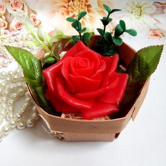 Мыло сувенирное - роза
