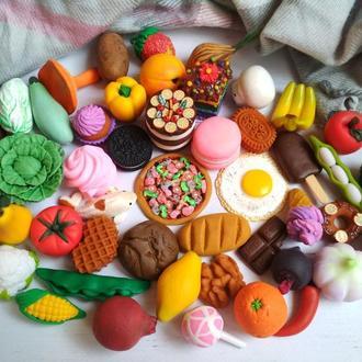 Миниатюрные овощи и фрукты из полимерной глины,еда для кукол,игрушечные сладости из полимерной глины