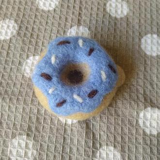 Пончик из шерсти