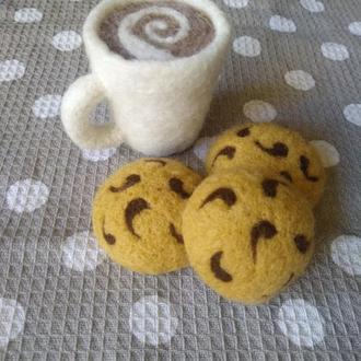 Печенье из шерсти