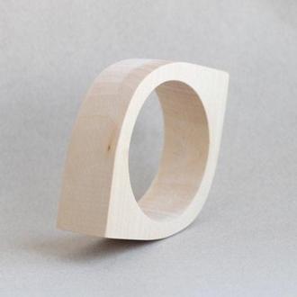 Браслет деревянный - Око - 30 мм (3 см) - липа - NE-30