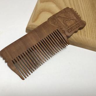 Гребень деревянный для волос ′Харьков′ ′Харків′