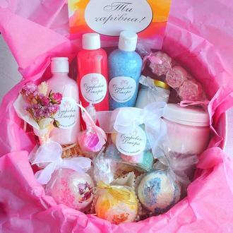 """Подарочный набор « Фруктовая фантазия"""",  подарок девушке, жене, сестре, на день рождения"""