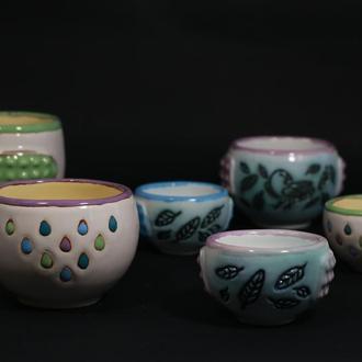 Керамические чашечки