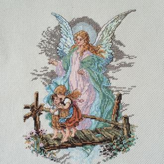 """Вышитая картина """"Ангел-хранитель"""""""