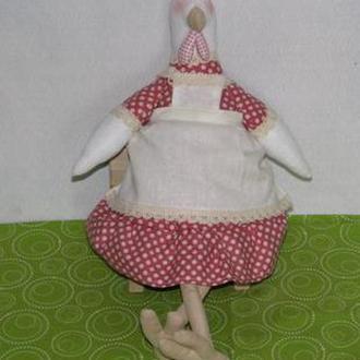 Курочка тильда - игрушка ручной работы