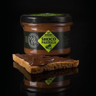 Шоколадная паста с лесным орехом (фундуком) 240 грамм.