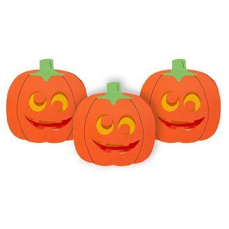 Набор открыток Гарбуз (3шт) на хеллоуин