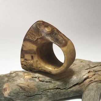 Кольцо деревянное из Оливы