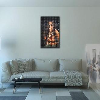 """Картина из пайеток Wall Decor """"Тишина"""" 80 х 50 см"""