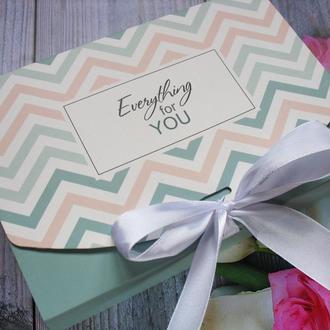 """Оригинальный подарочный набор к любому празднику """" Всё для тебя"""""""