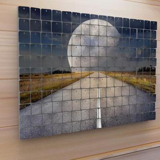 "Картина из пайеток Wall Decor ""Луна"" 64х44 см"