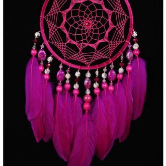 Dreamcatcher Pink Decor boho Dream Catcher pink Dreamcatcher