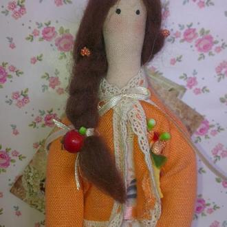 Кукла тильда Сентябрина