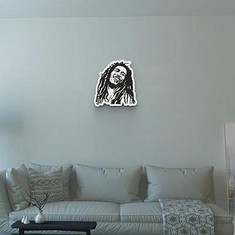 """Декоративное панно Wall Decor """"Боб Марли"""" 41х44 см"""