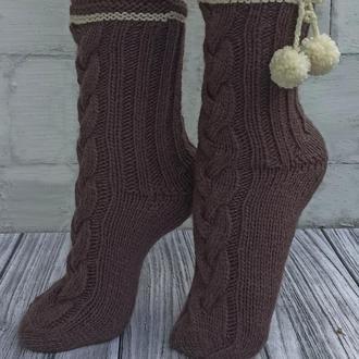 Красивые домашние носки - в подарок или для себя любимой