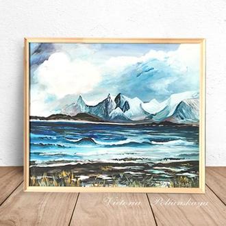 """Картина """" Бушующее море"""""""