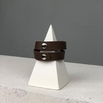 Шкіряний браслет (art80010)