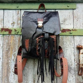 Кожаный рюкзак «Melanist»