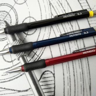 Олівець механічний 0,3  0,5   0,7 Mephisto