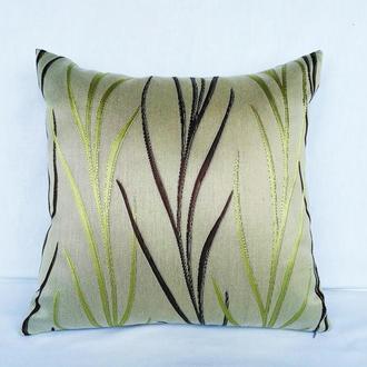 """Декоративна подушка,інтер'єрна """"Флора"""",40 см Х 40 см"""