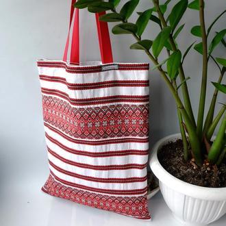 """Эко сумка """"Вышиванка"""",сумка-пакет, экоторба, этно-сумка, шоппер"""