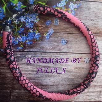 Жгут Кружево розовое