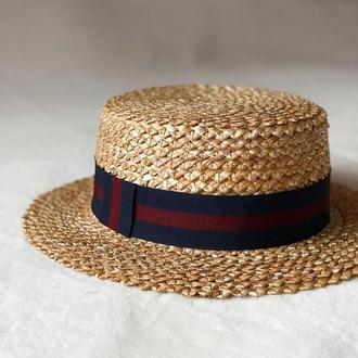 Шляпа-канотье Зубатка