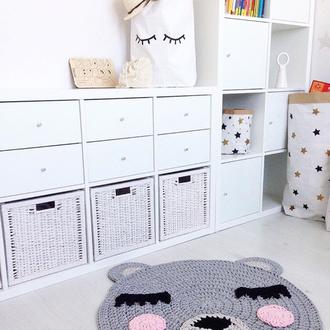 Коврик-мишка в детскую комнату