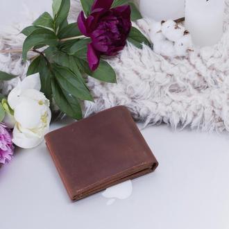 Компактный кожаный бумажник