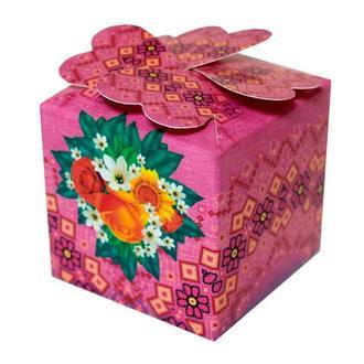 Бонбоньерки ярко-розового цвета (арт. B-18)