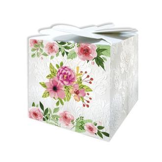 Красивая цветочная бонбоньерка (арт. B-119)