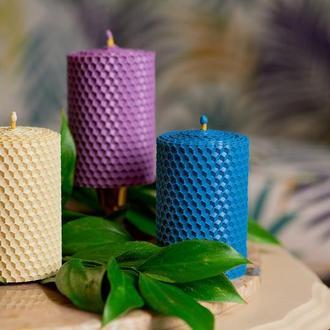 Цветные экологические свечи