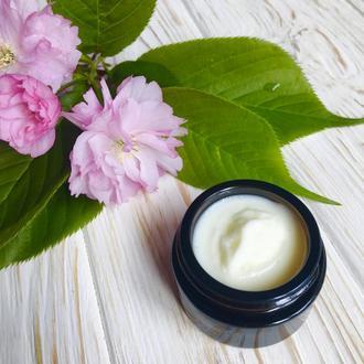 Натуральный Увлажняющий антивозрастной крем с гиалуроновой кислотой 30-35+