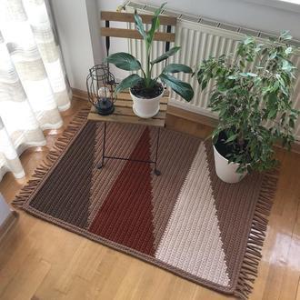 Ковер вязаный из трикотажной пряжи коврик ковер прямоугольный ковер дизайнерские ковры декор для дома