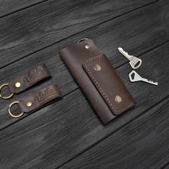 Ключница VOILE vl-ck1-brn коричневая