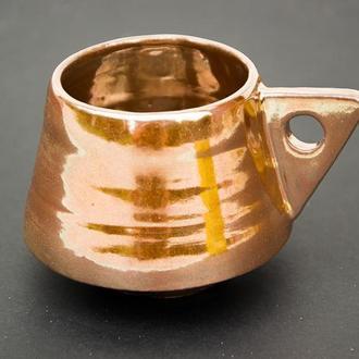 Чашка для кофе  230мл Золото