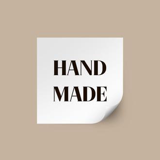 """Наклейка """"Hand made"""""""