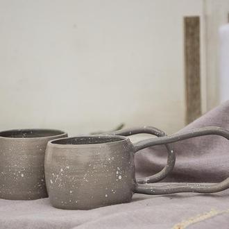 Чашки для влюбленных «Зайцы» 250 мл 2шт